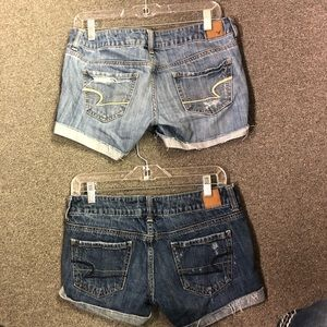 American Eagle jeans shorts size 2